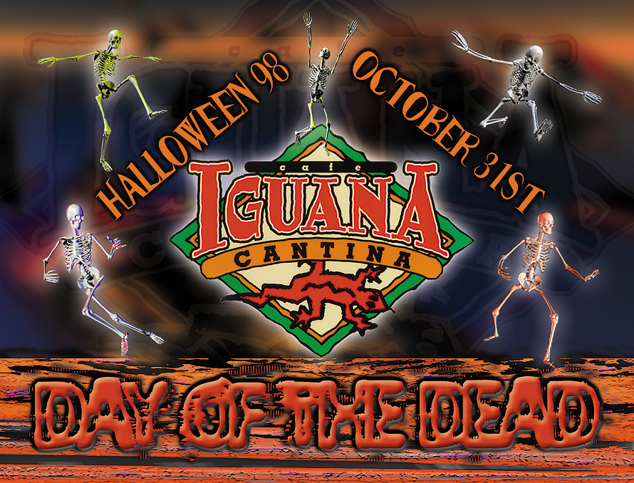 Halloween Day of the Dead at Cafe Iguana