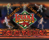 Halloween Day of the Dead at Cafe Iguana - tagged with costume contest