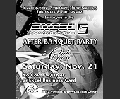 Excel Communications After Party at Club 609 - tagged with gray scale