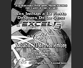 Excel Communications at Club 609 - tagged with gray scale
