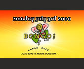 Bongos Cuban Cafe - tagged with doors open at 9pm