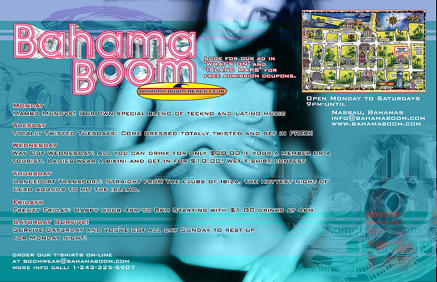 Bahama Boom Beach Club Guide