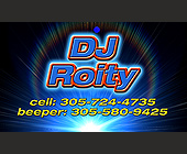 DJ Roity Music for All Occasions - Music Graphic Designs