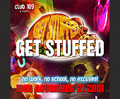 Get Stuffed at Club 109 - created November 07, 2001