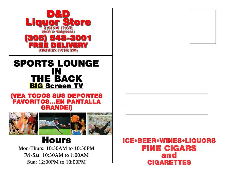 D and D Liquor Store