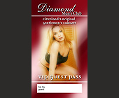 Diamond Men's Club VIP Guest Pass - Cleveland Graphic Designs