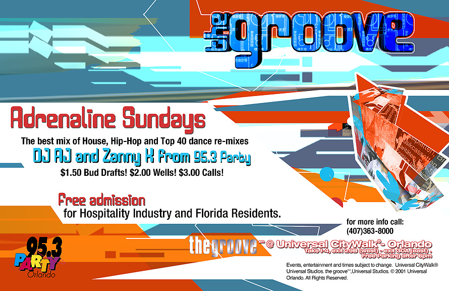 Adrenaline Sundays at The Groove