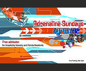 Adrenaline Sundays at The Groove - tagged with free admission