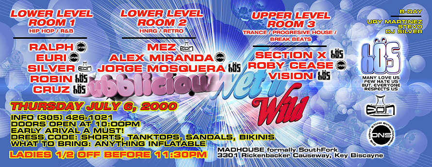 Mad House Wet and Wild